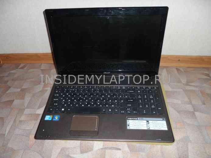 Как разобрать ноутбук Acer Aspire 5742G